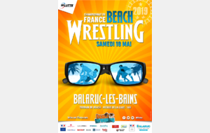 CHAMPIONNATS DE FRANCE BEACH WRESTLING